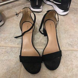 Target Low Platform Heels, Size 6